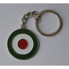 Italian Roundel Mod Target Keyring