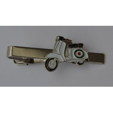 Italian Roundel Special Lambretta Scooter Enamel Tie-Pin