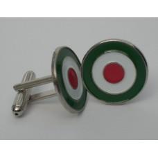 Italian Roundel Mod Target Cufflinks