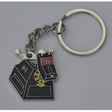 Doctor Who Style Whovian K-9 Keyring