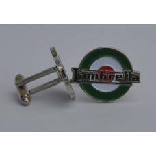 Lambretta Italian Target Quality Enamel Cufflinks