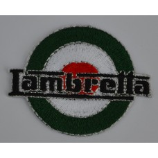 Lambretta Italian Target Sew on or Iron on Patch