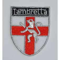 Lambretta Shield Sew on or Iron on Patch