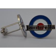 Lambretta RAF Target Quality Enamel Cufflinks