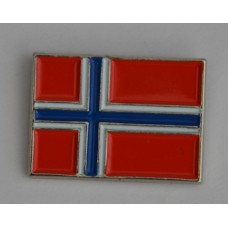 Norway Norwegian Flag Quality Enamel Pin Badge