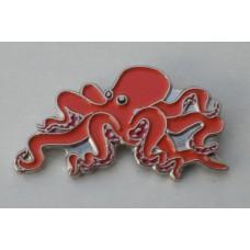 Octopus Pin Badge