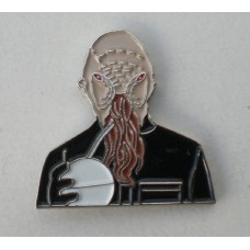 Doctor Who Style Whovian Ood Pin Badge