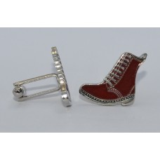Cherry Red DM Style Boot Cufflinks