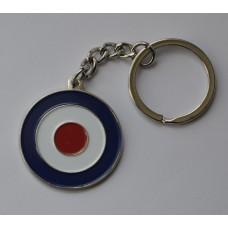 RAF Roundel Mod Target Keyring