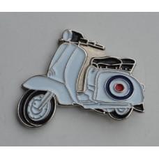 RAF Target Special Lambretta Pin Badge