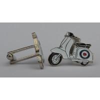 RAF Target Special Lambretta Cufflinks