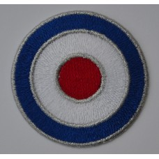 RAF Roundel Mod Target Sew On or Iron On Patch