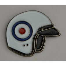 RAF Roundel Mod Target Scooter Helmet Enamel Pin Badge