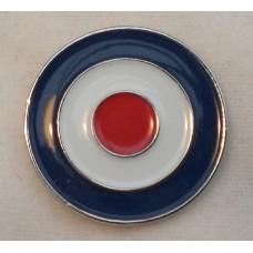 RAF Roundel Mod Target Pin Badge