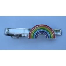 Gay Pride Rainbow Tie-Pin