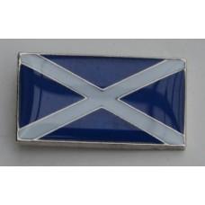Scottish Saltire Pin Badge