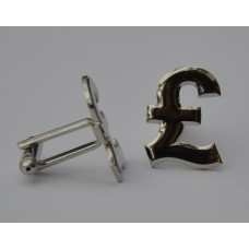 British Pound Sign Cufflinks