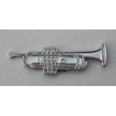 Trumpet Pin Badge