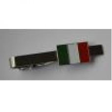 Italian Flag Tie-Pin