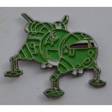 Red Dwarf Starbug Spaceship Enamel Pin Badge