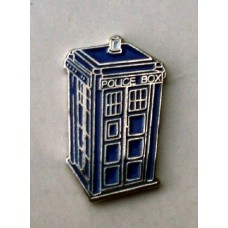 Doctor Who Style Whovian TARDIS Pin Badge