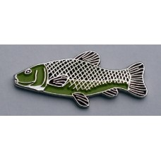 Tench Pin Badge