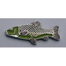 Tench Pin Badge