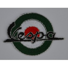 Vespa Italian Target Sew on or Iron on Patch
