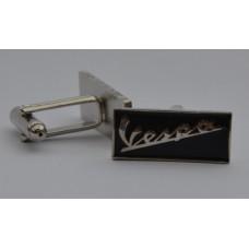 Vespa Logo Quality Enamel Cufflinks