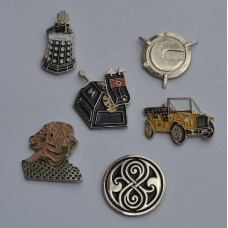 Whovian Badges Gift Set 2