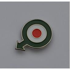 Quadrophenia Italy Roundel With Arrow Enamel Pin Badge