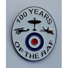 100 Years of the RAF Quality Enamel Pin Badge