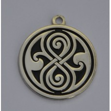 Doctor Who Style Whovian Seal of Rassilon Charm