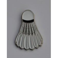 Badminton Shuttlecock Enamel Pin Badge