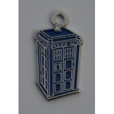 Doctor Who Style Whovian TARDIS Charm