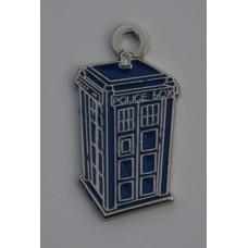 Doctor Who Style Whovian TARDIS Charm