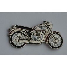Triumph Bonneville Classic Motorcycle Enamel Pin Badge